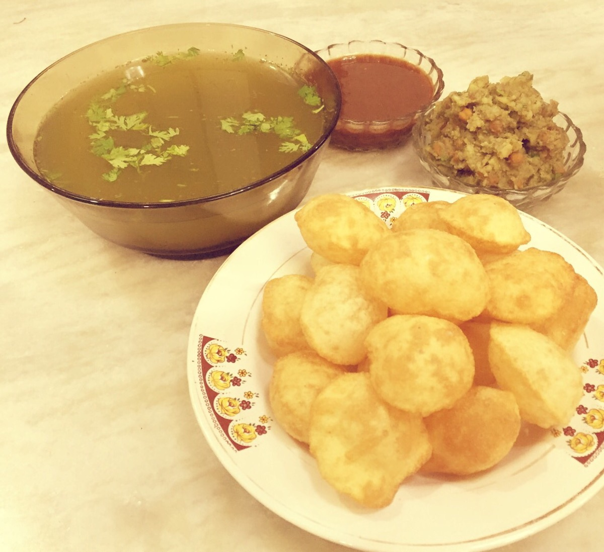 How To Make Pani Puri At Home In Marathi