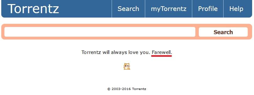 Torrent Shutdown